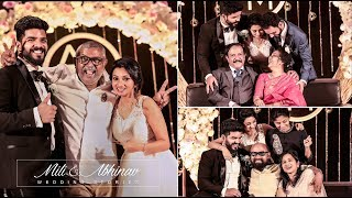 Wonderful Christian Celebrity Wedding Highlights Of Mili & Abhinav
