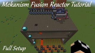 Mekanism Fusion Reactor Tutorial