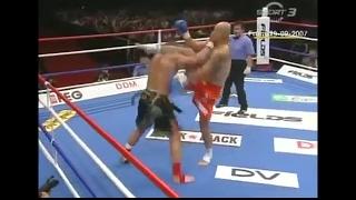 ЛУЧШИЕ БОИ: чемпион таеквондо против кикбоксинга