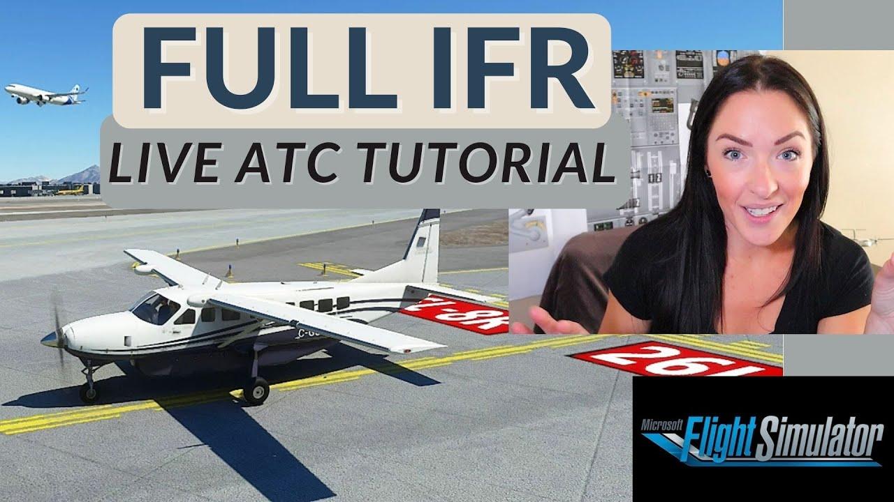 MS Flight Simulator 2020 FULL IFR Flight | LIVE Pilotedge ...