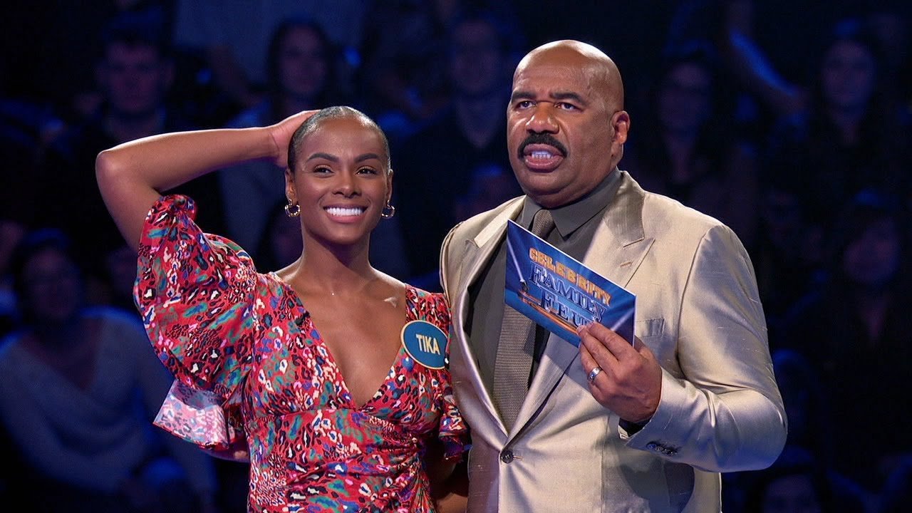Download 'mixed-ish' Stars Tika Sumpter and Mark-Paul Gosselaar Play Fast Money - Celebrity Family Feud