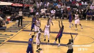 (HD) Rodney Stuckey 2010-2011- Touchdown