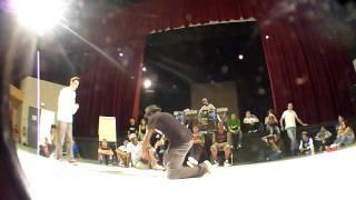 Raid Battle 2011 - Popping - Demi Final - U-Ghost (La Smala) Vs Rogé (h2nOus)