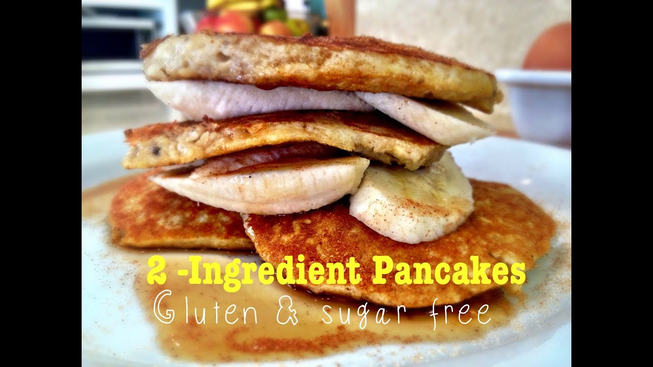 2 ingredient banana pancakes super fast gluten and sugar free by 2 ingredient banana pancakes super fast gluten and sugar free by the internet chef youtube ccuart Image collections