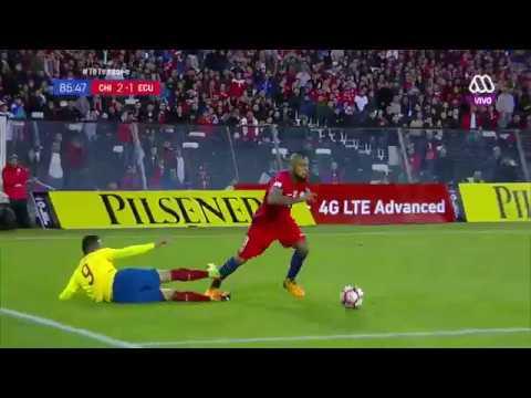 Gol de Chile / Chile 2 - Ecuador 1