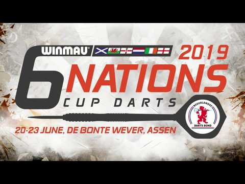 Winmau Six Nations Cup Darts 2019 - Day 1 (Friday)