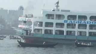 Bangladesh Cruise Ship Crash Big Ship Competition DP HD Live