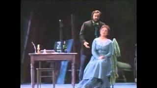 Che Gelida Manina Luciano Pavarotti Mirella Freni