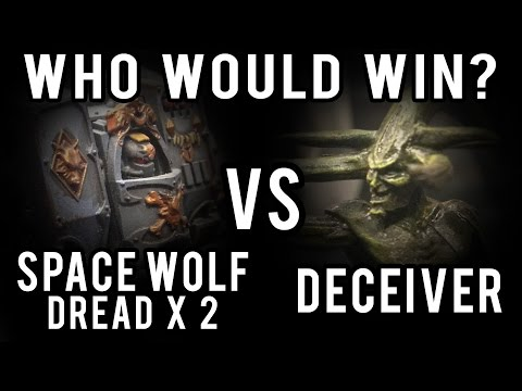 C'tan vs Dreadnoughts X2 Warhammer 40k Battle Report - Who Would Win Ep 23