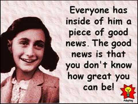 creative quotations from anne frank for jun 12 youtube