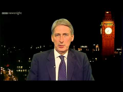 NEWSNIGHT: Philip Hammond: 'We'd consider hiring convicted hackers'