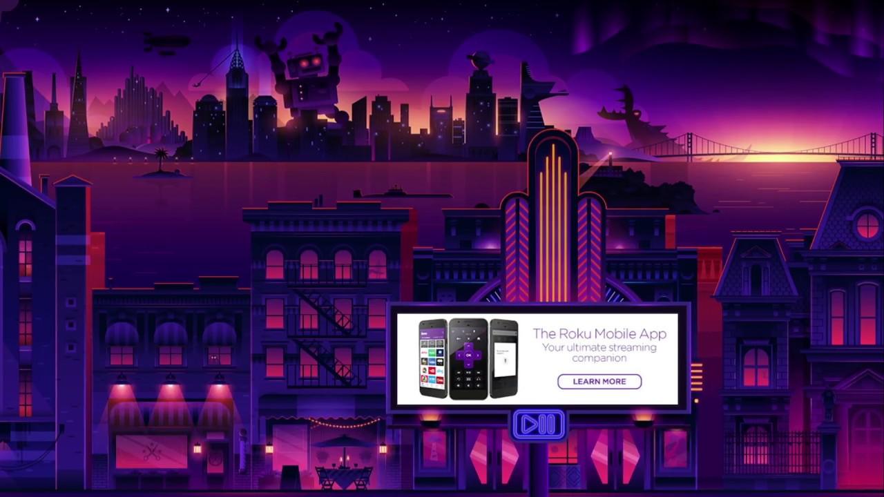 New Roku Screensaver | City Stroll: Movie Magic