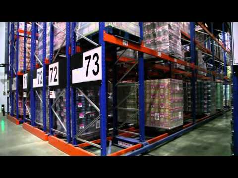 BARPRO STORAGE SA - Storax mobile racking in operation