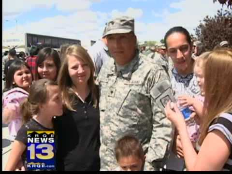 New Mexico National Guardsmen come home