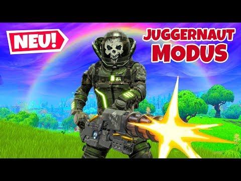 Der JUGGERNAUT MODUS in Fortnite!