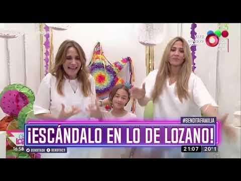 ¡Escándalo en lo de Lozano!