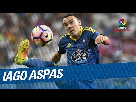 Iago Aspas TOP 5 Goals LaLiga Santander 2016/2017