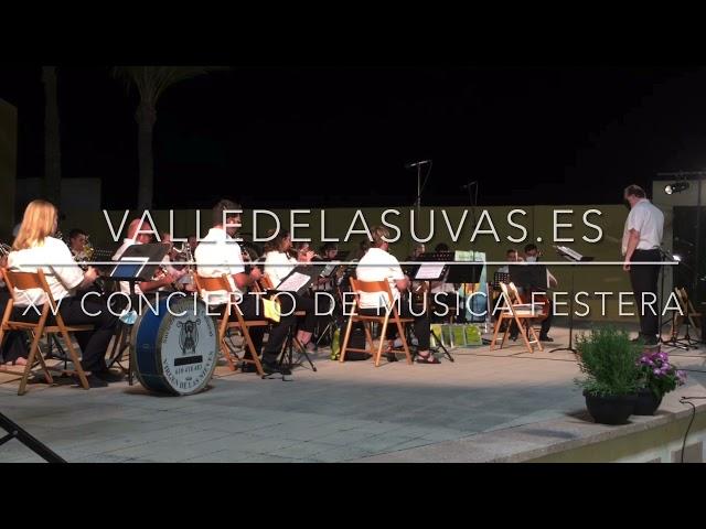 XV Concierto de Música Festera #Aspe 2021