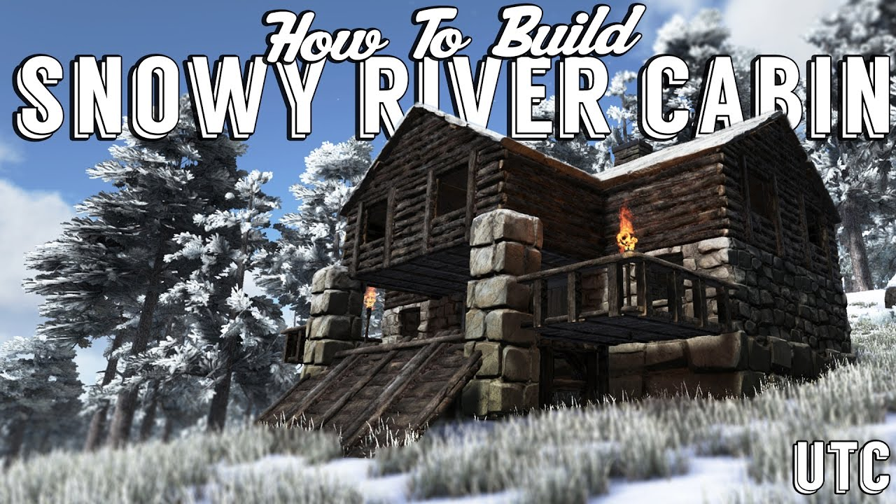 The Winter Cabin :: Ark House Design :: Snowy River Cabin Build Guide ::  UTC Building Tutorial