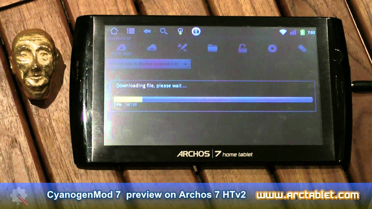 Archos 7 home tablet drivers download update archos software.