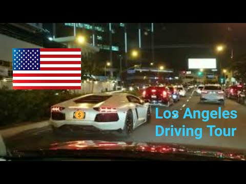 Night Driving Tour of Los Angeles