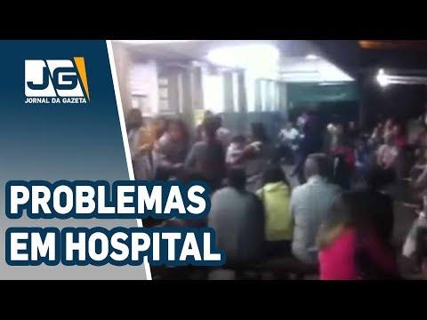Problemas em mais um hospital da periferia