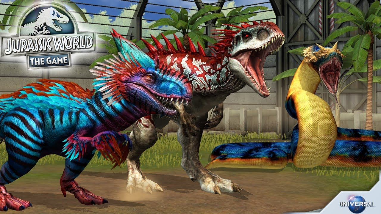 play jurassic world the game on pc