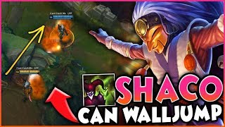 Advanced Shaco Wall Jumps