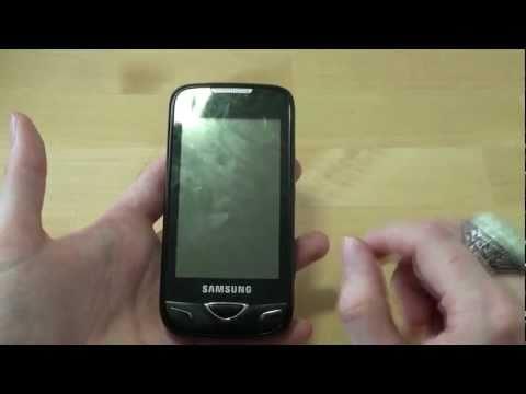 Samsung GT-B7722i Test Erster Eindruck