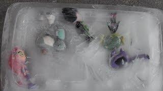 Teen Titans GO! Raven, Starfire, Beast Boy, Robin, Cyborg Jump into Something Cold & Wet!!