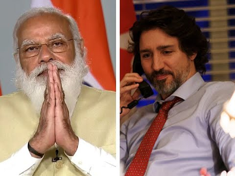 Image result for trudeau and modi youtube