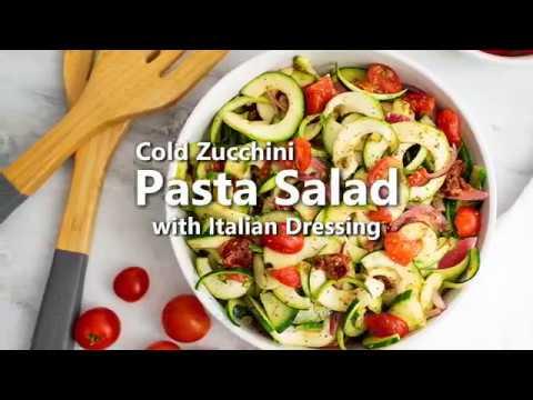 Zucchini Pasta Salad Recipe