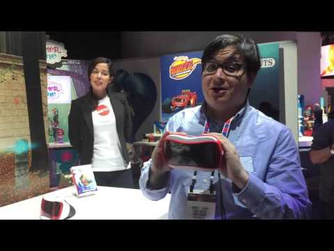 ViewMaster VR Viewer Deluxe at Toy Fair 2016