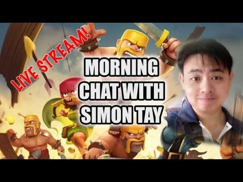 Adhoc Morning Hangout with Simon Tay 9am Singapore time