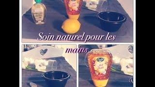 °° Soin naturel fait maison pour des mains toutes douces °°