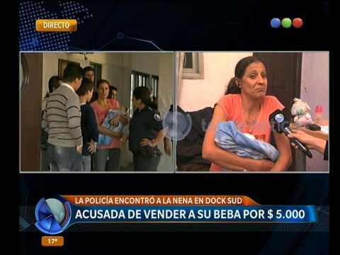 Vendió a su bebé en un templo umbanda: habla la abuela de la nena -Telefe Noticias Videos De Viajes