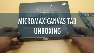 Micromax Canvas Tab Unboxing and Overview
