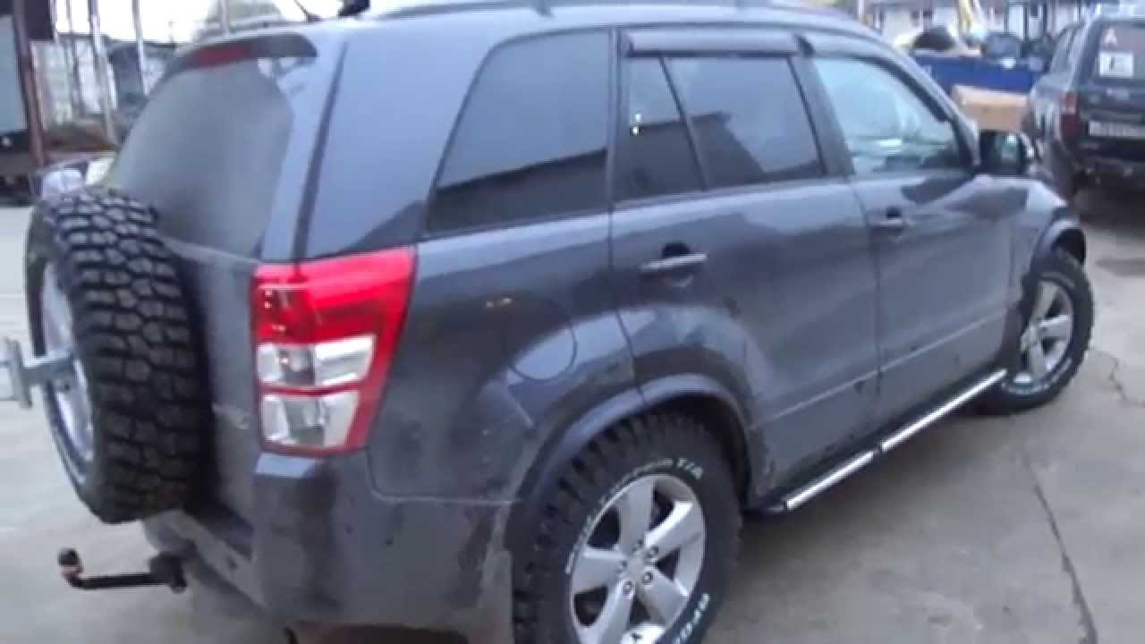 Suzuki Grand Vitara New Off Road Tuning