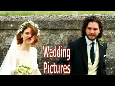 Kit Harrington and Rose Leslie Wedding Pictures
