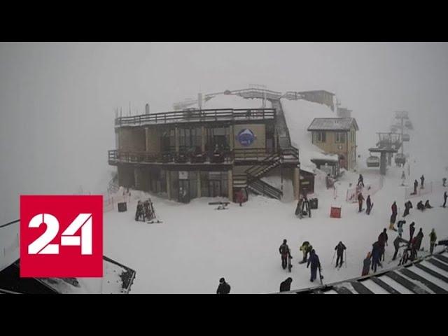"""""""Погода 24"""": весна начнется с зимних холодов - Россия 24"""