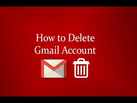 How to delete Google account how to delete gmail account 2016 ...