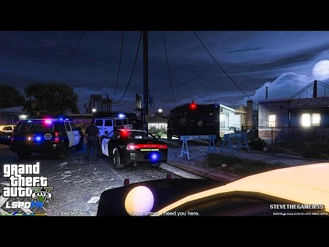 GTA 5 - LSPDFR - EPiSODE 67 - LET'S BE COPS - CITY PATROL (GTA 5 PC POLICE MODS) FIRST PERSON VIEW
