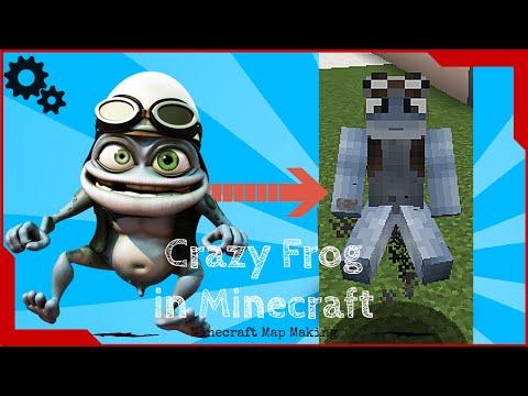 Working Crazy Frog in Minecraft