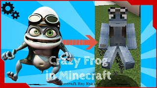 Working Crazy Frog in Minecraft