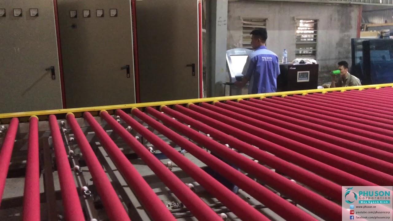 PHU SON Corporation hoàn thành lắp đặt dây chuyền sx kính cường lực tại nhà máy THANH DONG GLASS.
