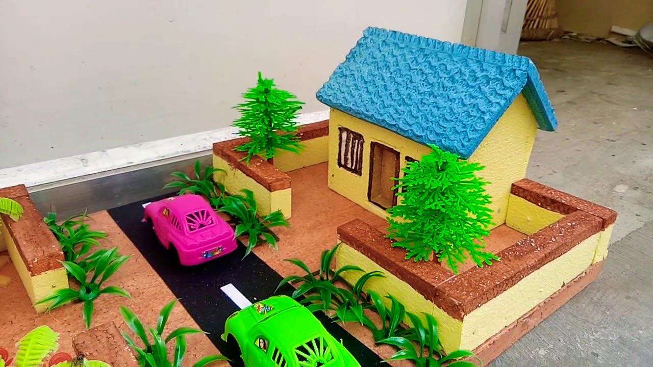 School Project Small House Model Wwwschoolprojectcenterin