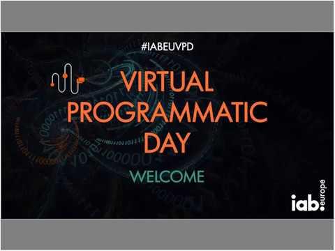 IAB Europe Virtual Programmatic Day first half