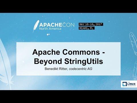 Apache Commons - Beyond StringUtils - Benedikt Ritter, codecentric AG