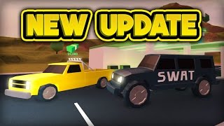 NEW SWAT VAN & PICKUP TRUCK! (ROBLOX Jailbreak)