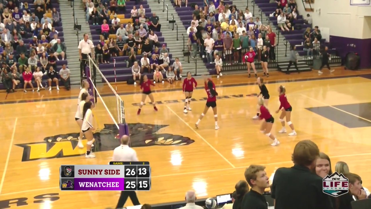 WHS vs Sunnyside Volleyball Highlights 2019-09-18